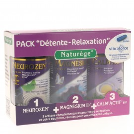 PACK TRIO DETENTE RELAXATION