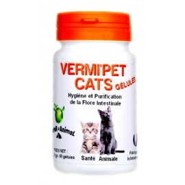 Vermifuge pour CHATS VERMI'PET CAT