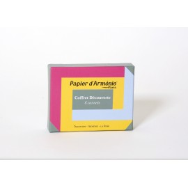 COFFRET DECOUVERTE PAPIER D'ARMENIE